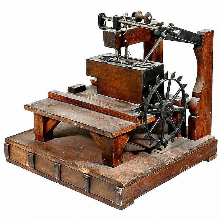 William Newton - machine à coudre